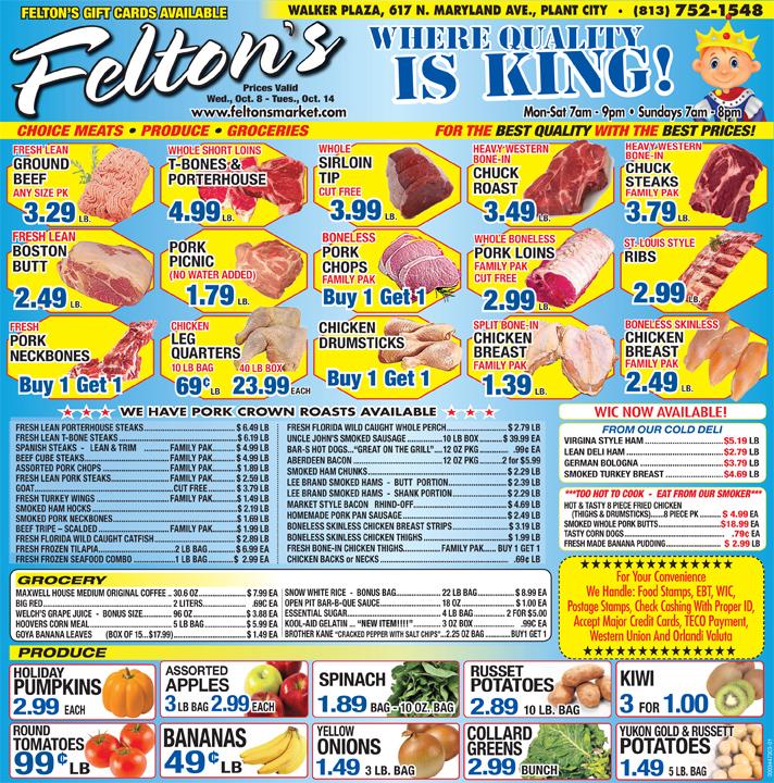 Feltons 100814