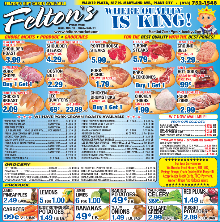 Feltons 101514