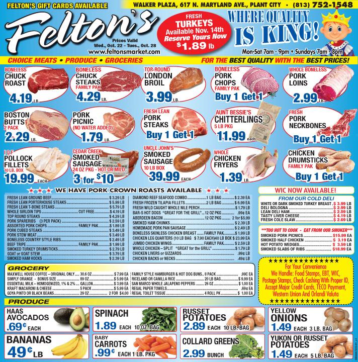 Feltons 102214